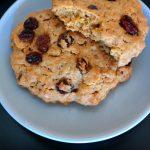 Karotten-Rosinen-Cookies Kekse Rezept vegan