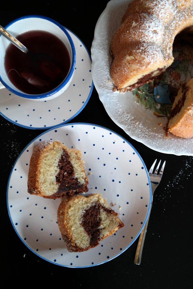 Klassischer Marmorkuchen Rezept vegan