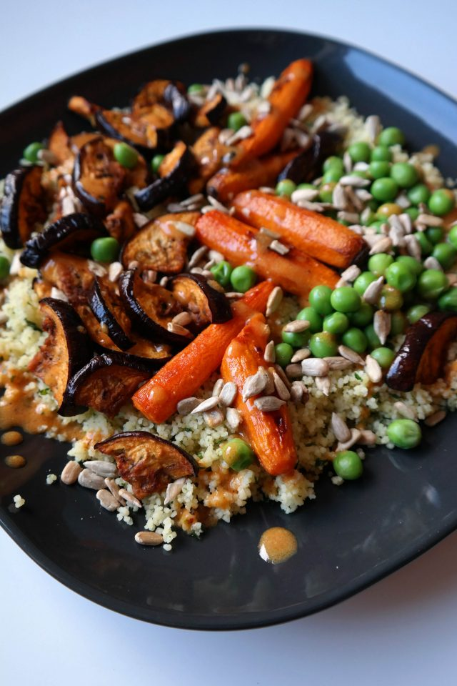 Winter Blues Couscous Bowl