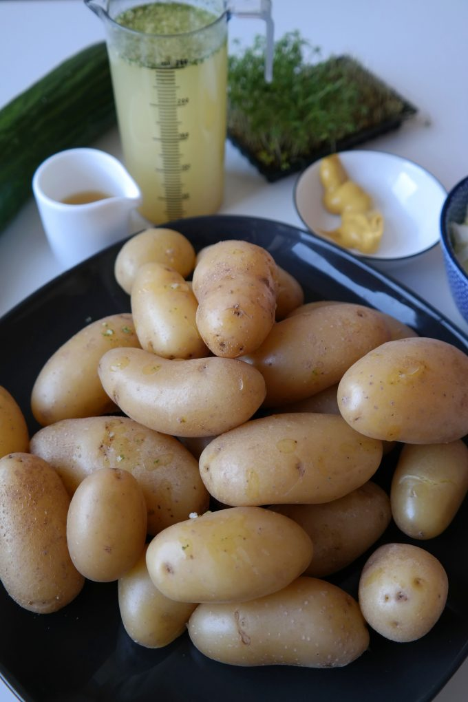 Bayerischer Kartoffel-Salat Rezept Vegan