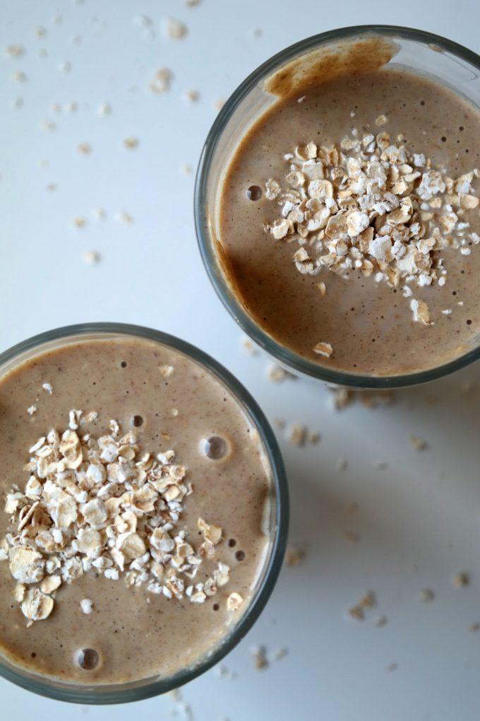 Cremiger Protein-Power Shake Rezept vegan