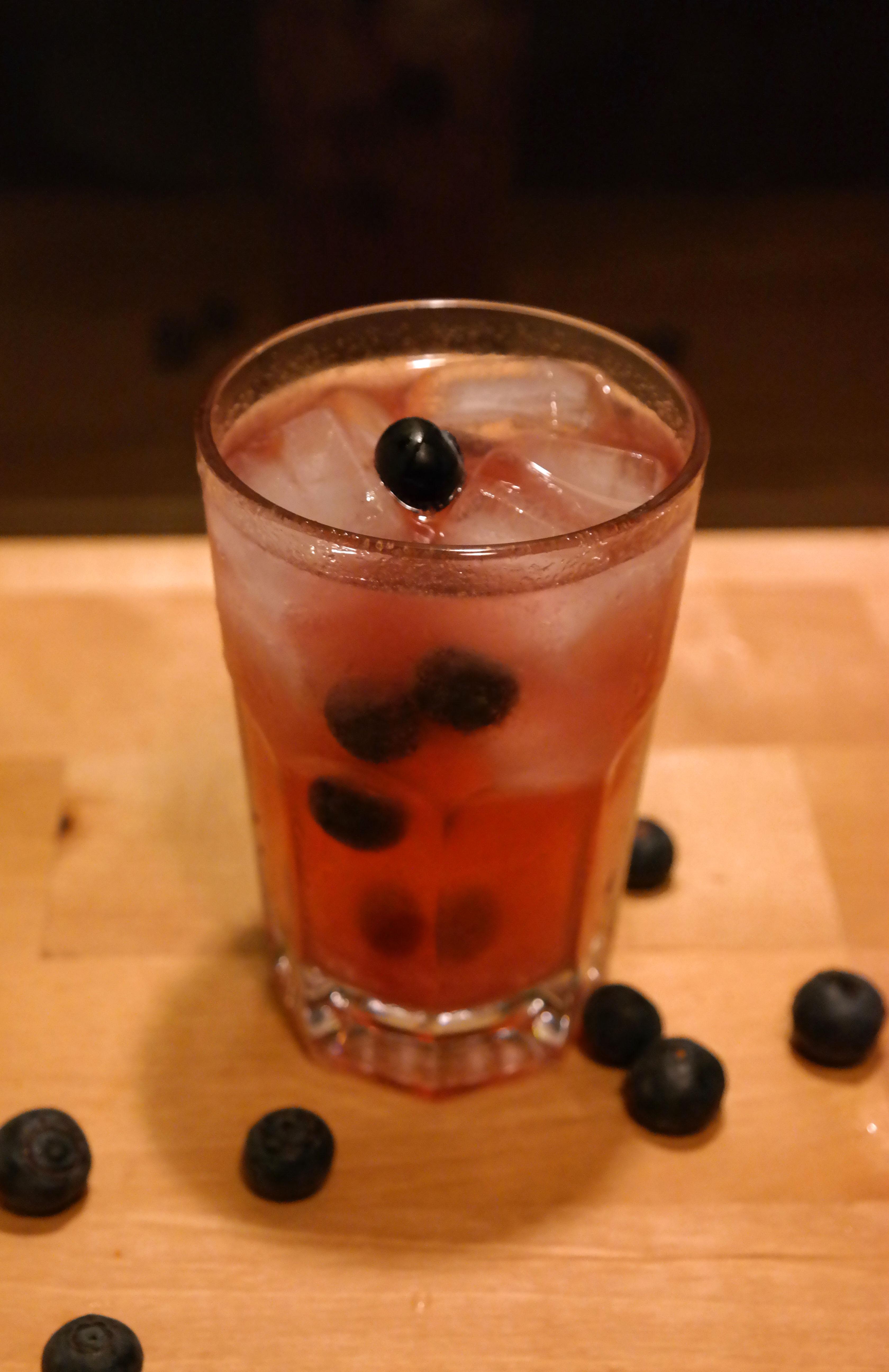 Blaubeer Gin and Tonic Heidelbeer G&T Gin & Tonic Rezept Vegan