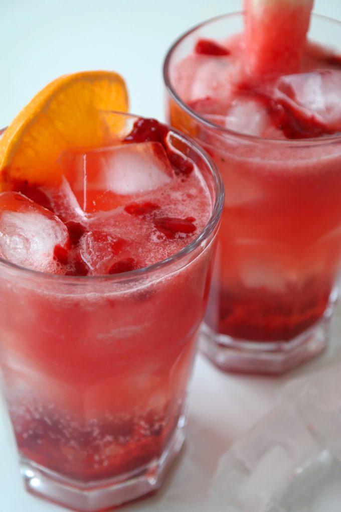 Pink Tonics Sommer Rezept vegan