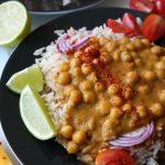 Kichererbsen-Garam-Masala mit Mango Rezept Vegan