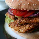 Zucchini-Schnitzel Burger Rezept Vegan