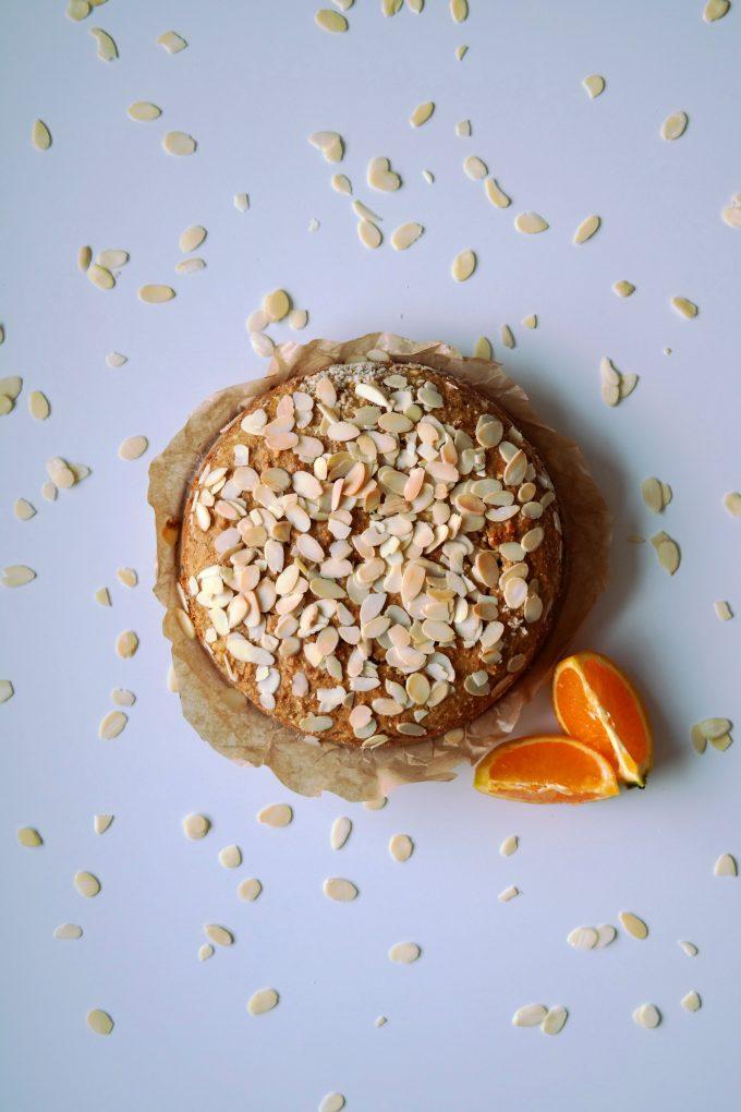 Mandel Orangen Kuchen Vegane Kuche