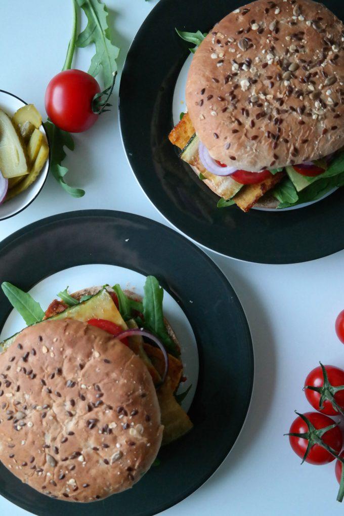 Tofu-Burger Rezept Vegan