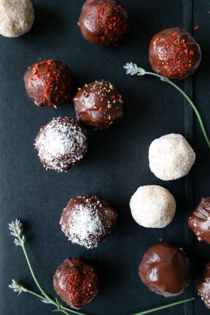 Kokosnuss Bällchen Rezept Vegan Schokolade