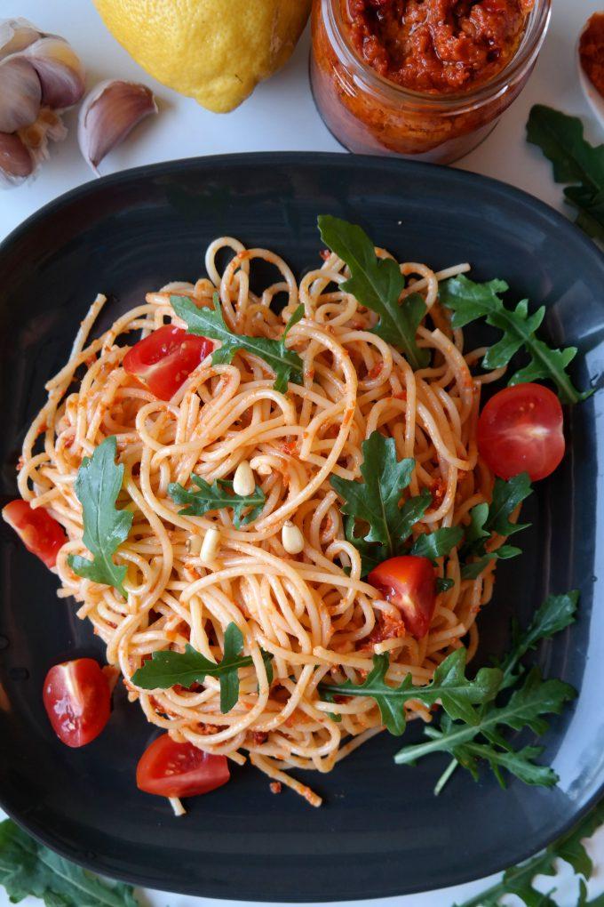 Pesto Rosso Rezept Vegan