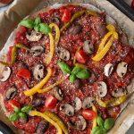 Pizza Rezept Vegan