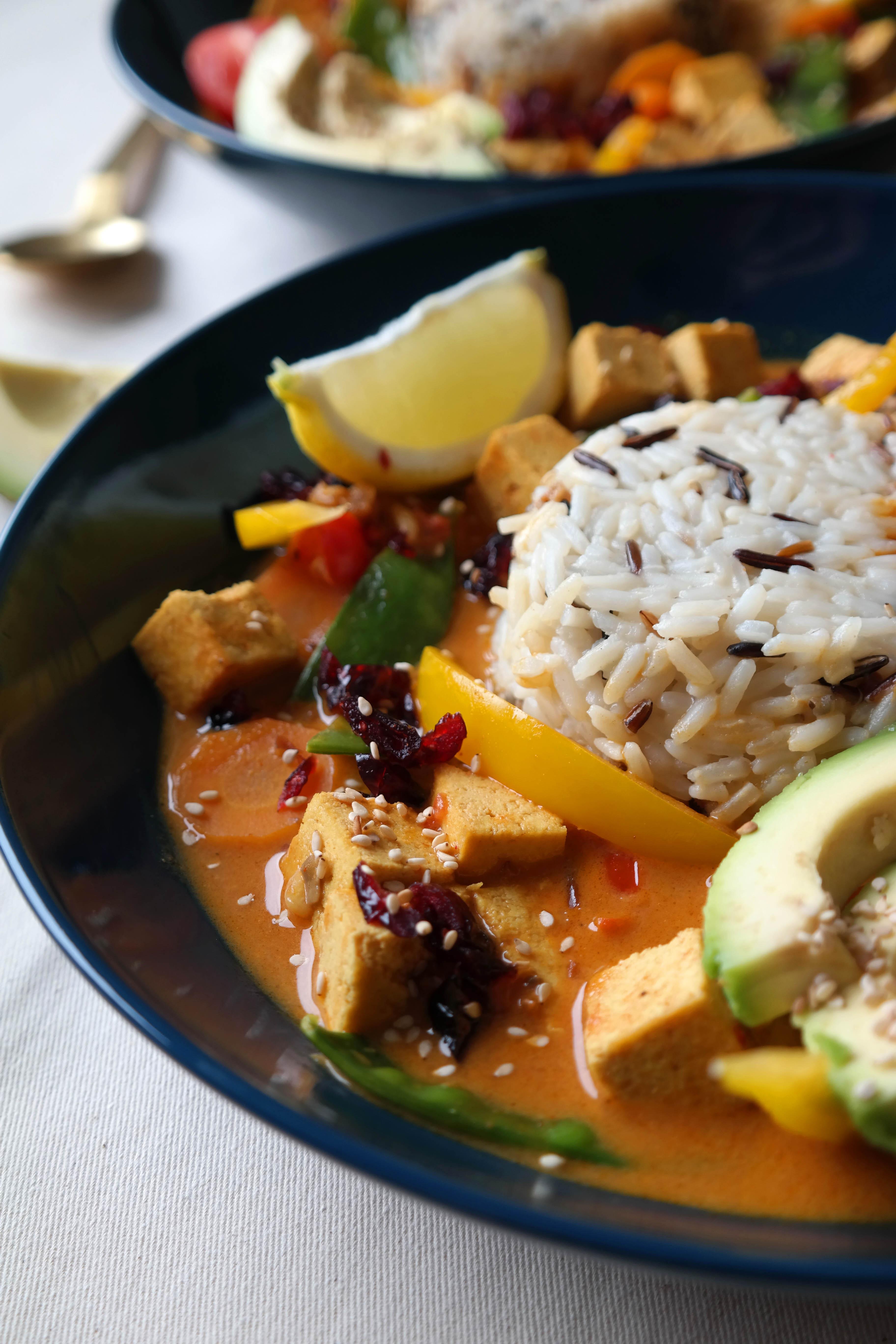 Gemüse-Tofu Curry Rezept vegan