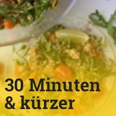 Vegane Rezepte HohenadlCo 30 Minuten und kürzer