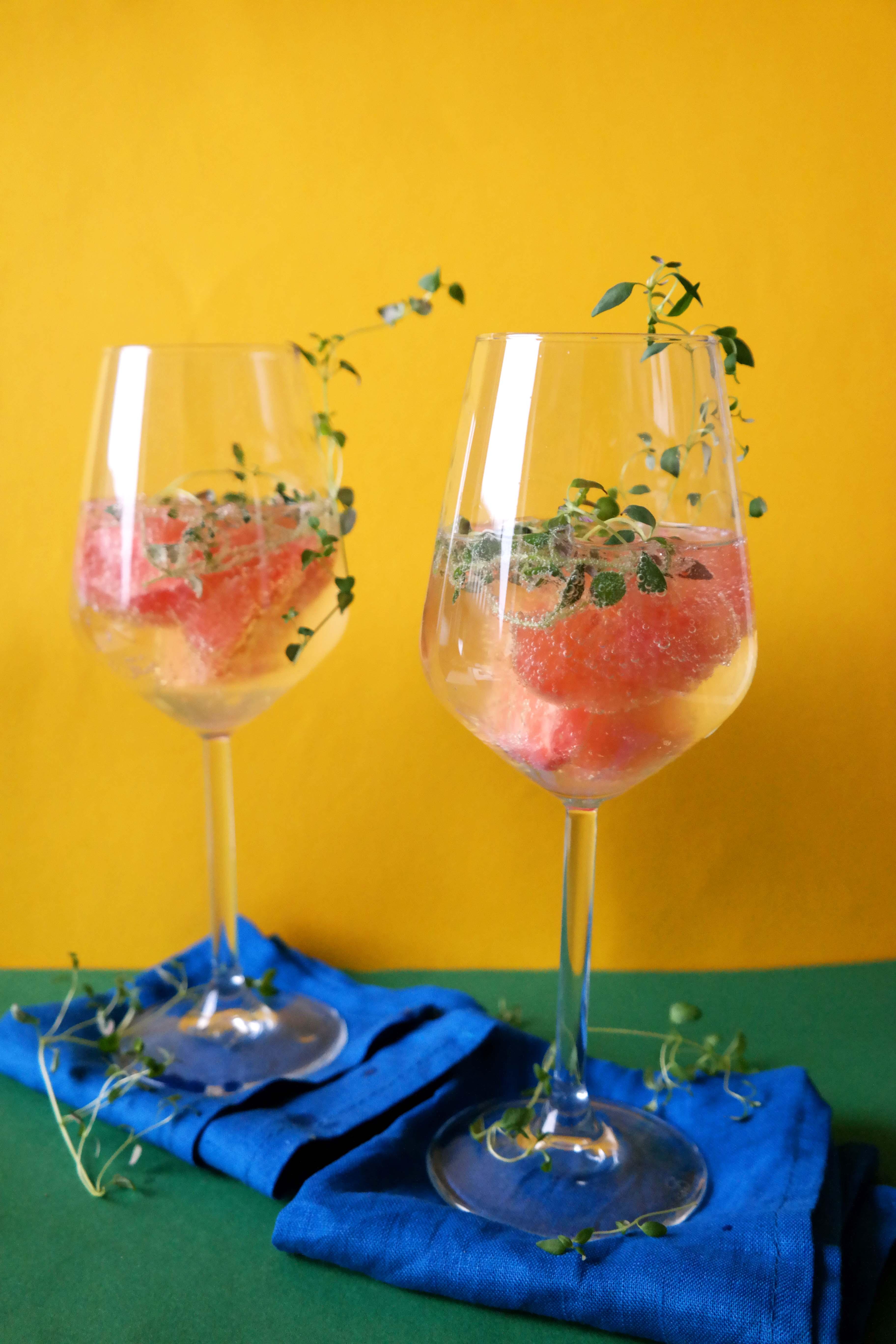 Grapefruit-Thymian Spritzer