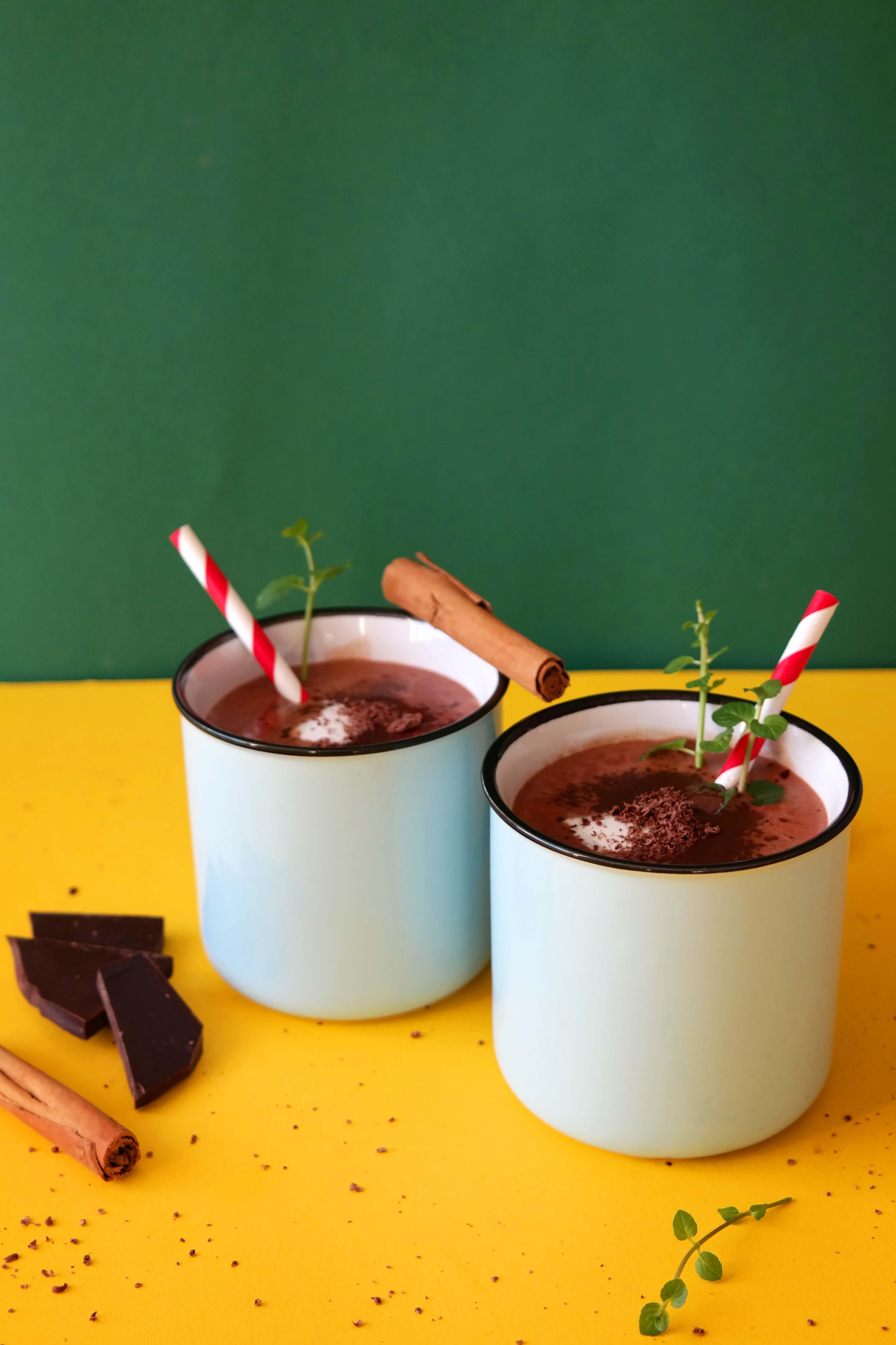 Heiße Schokolade Rezept Vegan