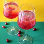 Cranberry Prosecco Rezept Vegan